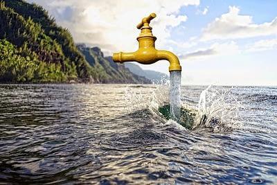 L'eau des oceans