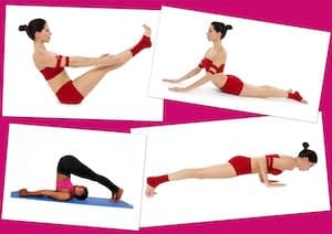 Pilates poses for healthier and happier living