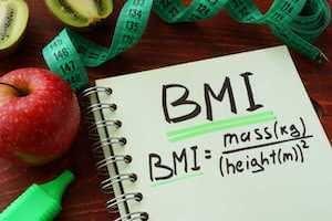 Healhty living factor number three: Control your BMI (Body Mass Index)